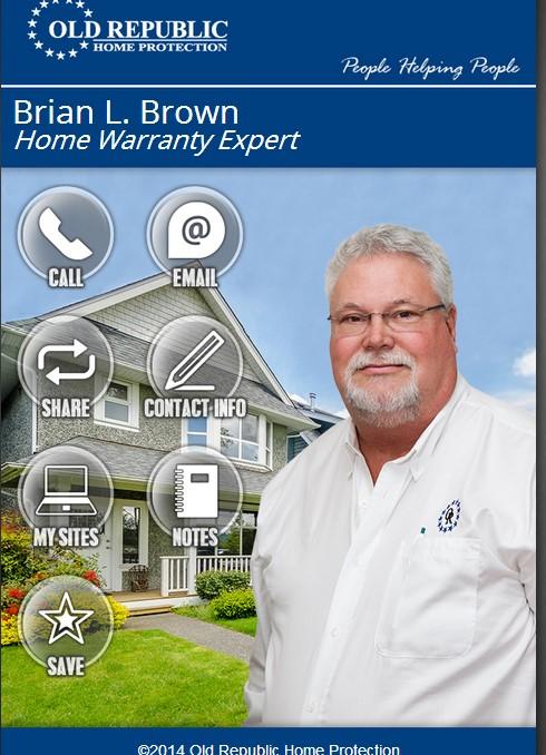 Brian L.Home Warranty SavvyCard