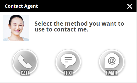 SavvyCard® Lead Capture Contact Agent